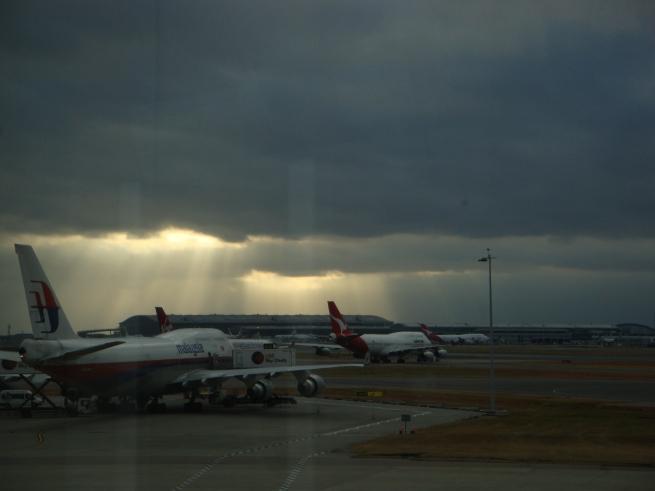 Heathrow - skyscape