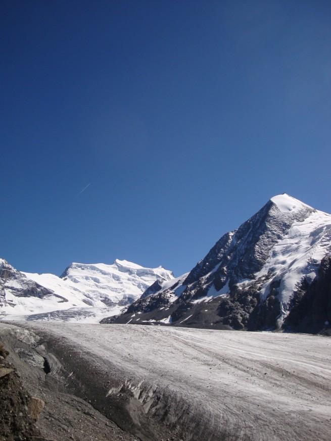 Combin de Corbassière, Grand Combin, Glacier de Corbassière (II)