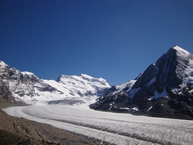 Combin de Corbassière, Grand Combin, Glacier de Corbassière (III)