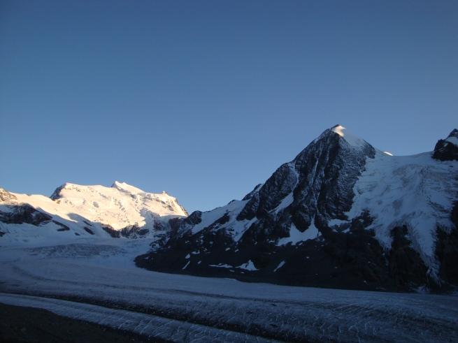 Combin de Corbassière, Grand Combin, Glacier de Corbassière (IV)