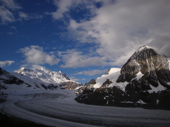 les deux Combins, leurs glaciers