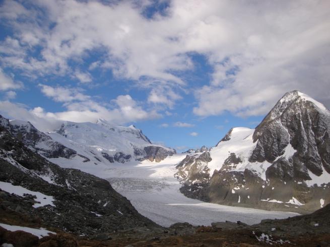 les Combins, leurs glaciers, depuis le col des Otanes II