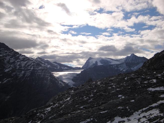 glacier et sommets depuis le col des Otanes II