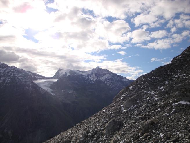 glacier et sommets depuis le col des Otanes III