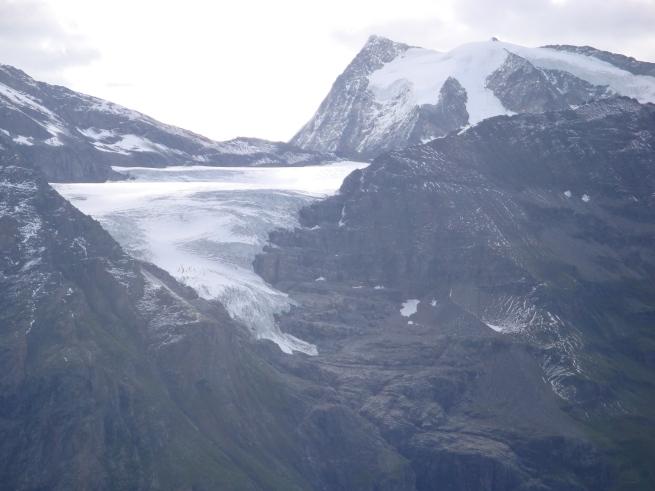 glacier et sommets depuis le col des Otanes IV